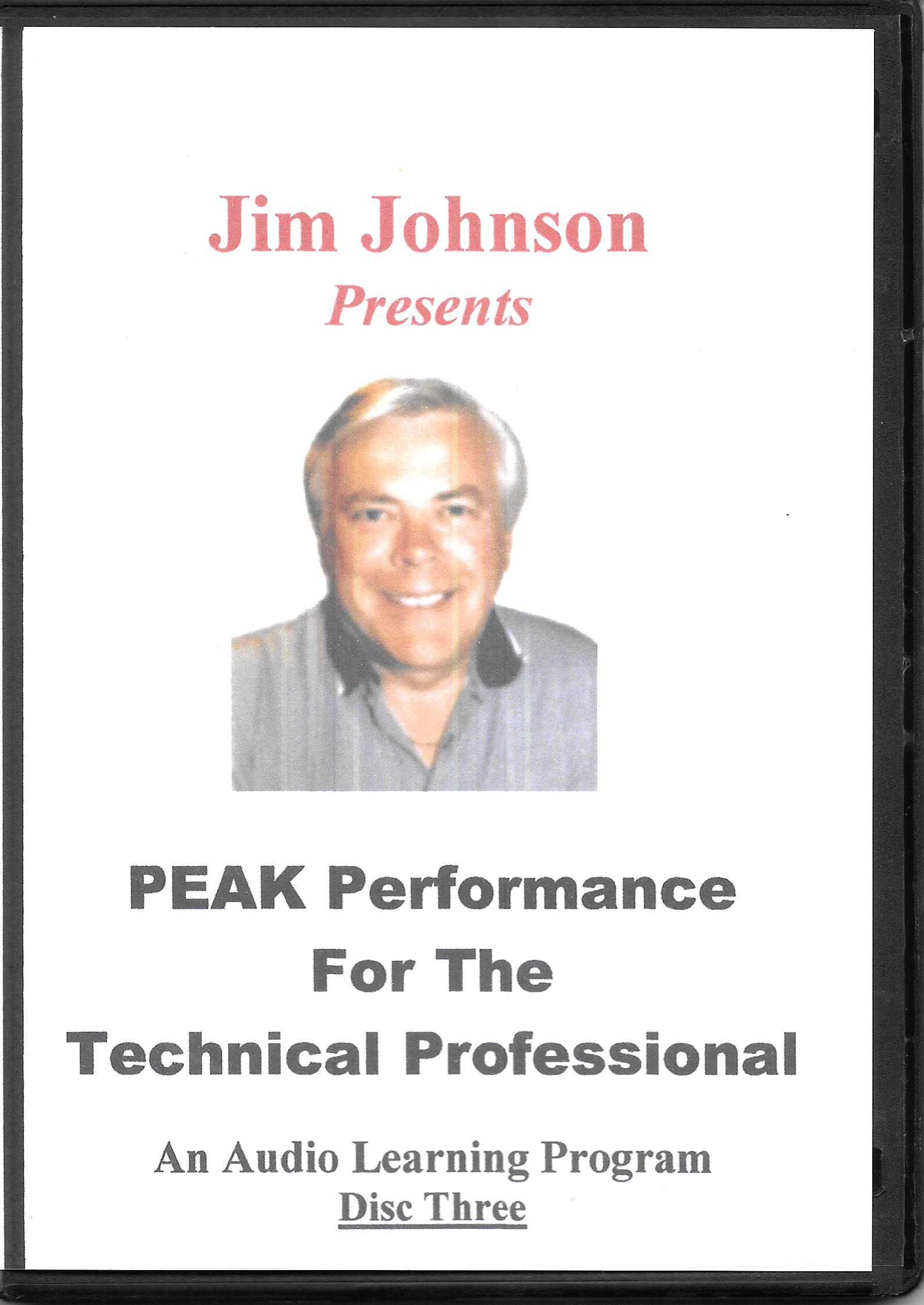 PEAK Audio Disc Three Case