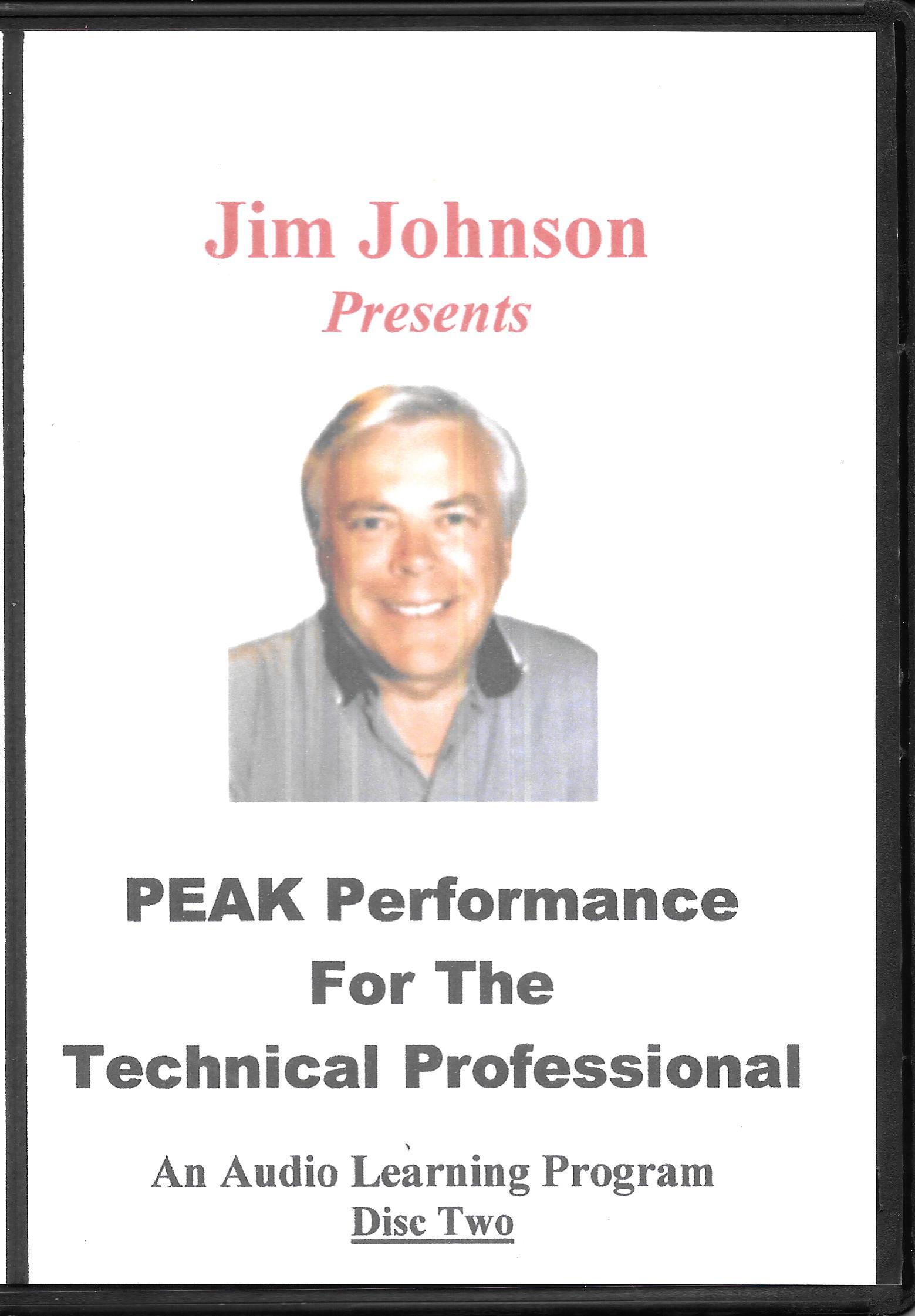 PEAK Audio Disc Two Case
