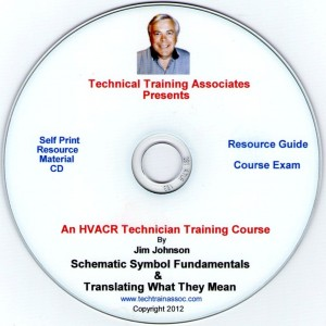 HVACR Schematics Training Course 1 CD