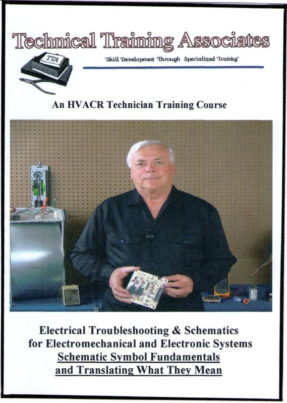 HVACR Schematics Training Course 1 Cover
