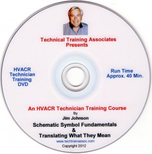 HVACR Schematics Training Course 1 DVD