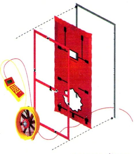 Blower Door Testing For Residential Hvac Systems